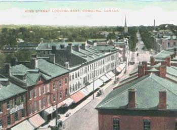 King Street, Looking East, Cobourg, Ontario, Canada