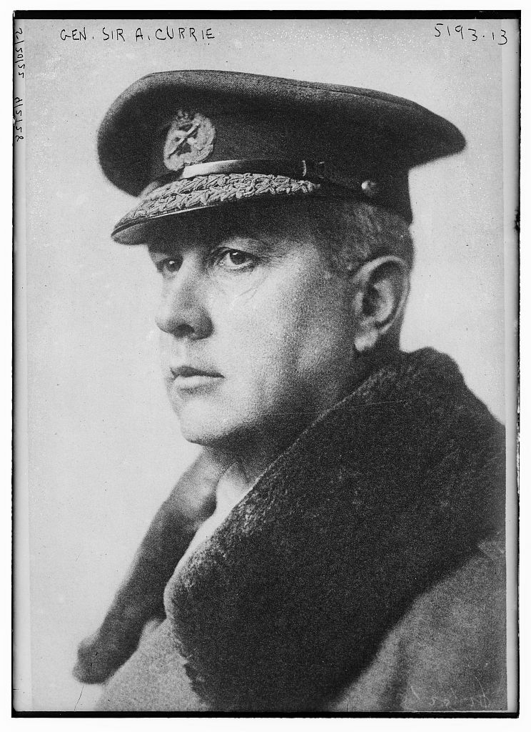 general sir arthur currie essay Assess the role of canada in the first world war assess the role of canada in the first world war essay sample  sir arthur currie, the first canadian general,.